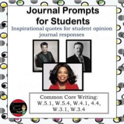 Journal Prompts for Students
